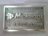 targhe in bronzo